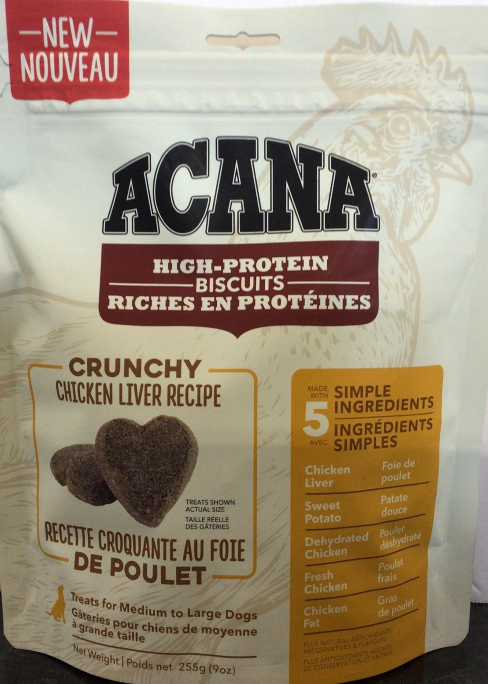 Acana Dog Crunchy Chicken Liver Treat-Medium/Large-255gm
