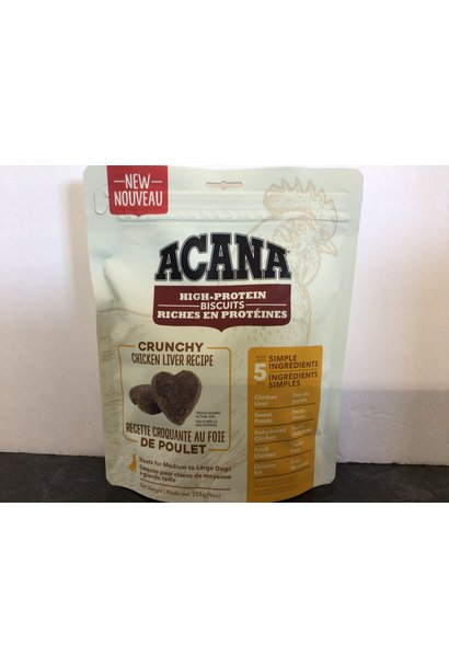 Crunchy Chicken Liver Treat-Medium/Large-255gm