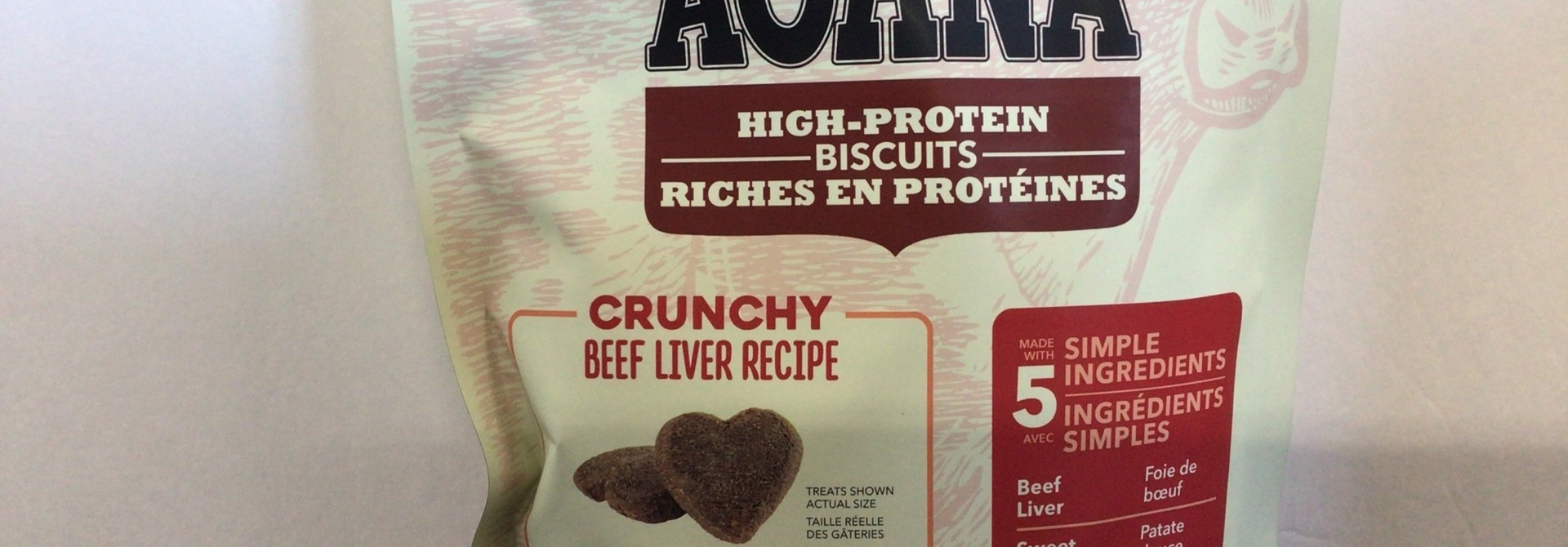 Crunchy Beef Liver Treat-Small