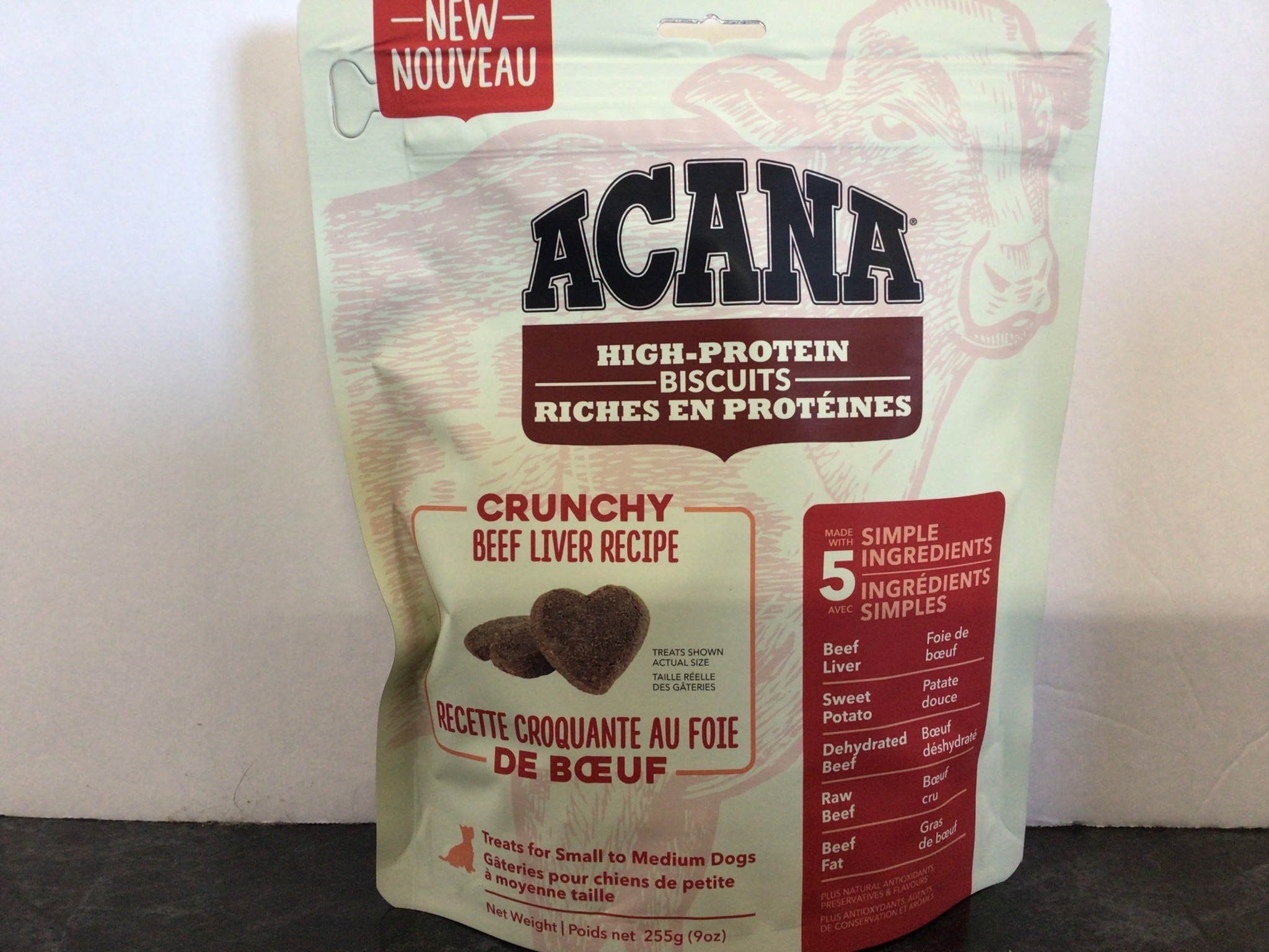 Crunchy Beef Liver Treat-Small-1