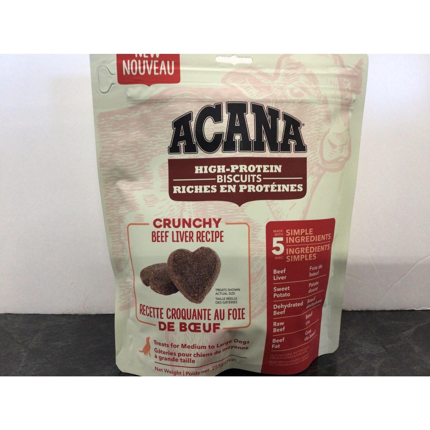 Acana Dog Crunchy Beef Liver Treat-Medium/Large-255gm