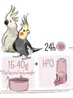PUUR Large Parakeet & Cockatoo Food 750gm