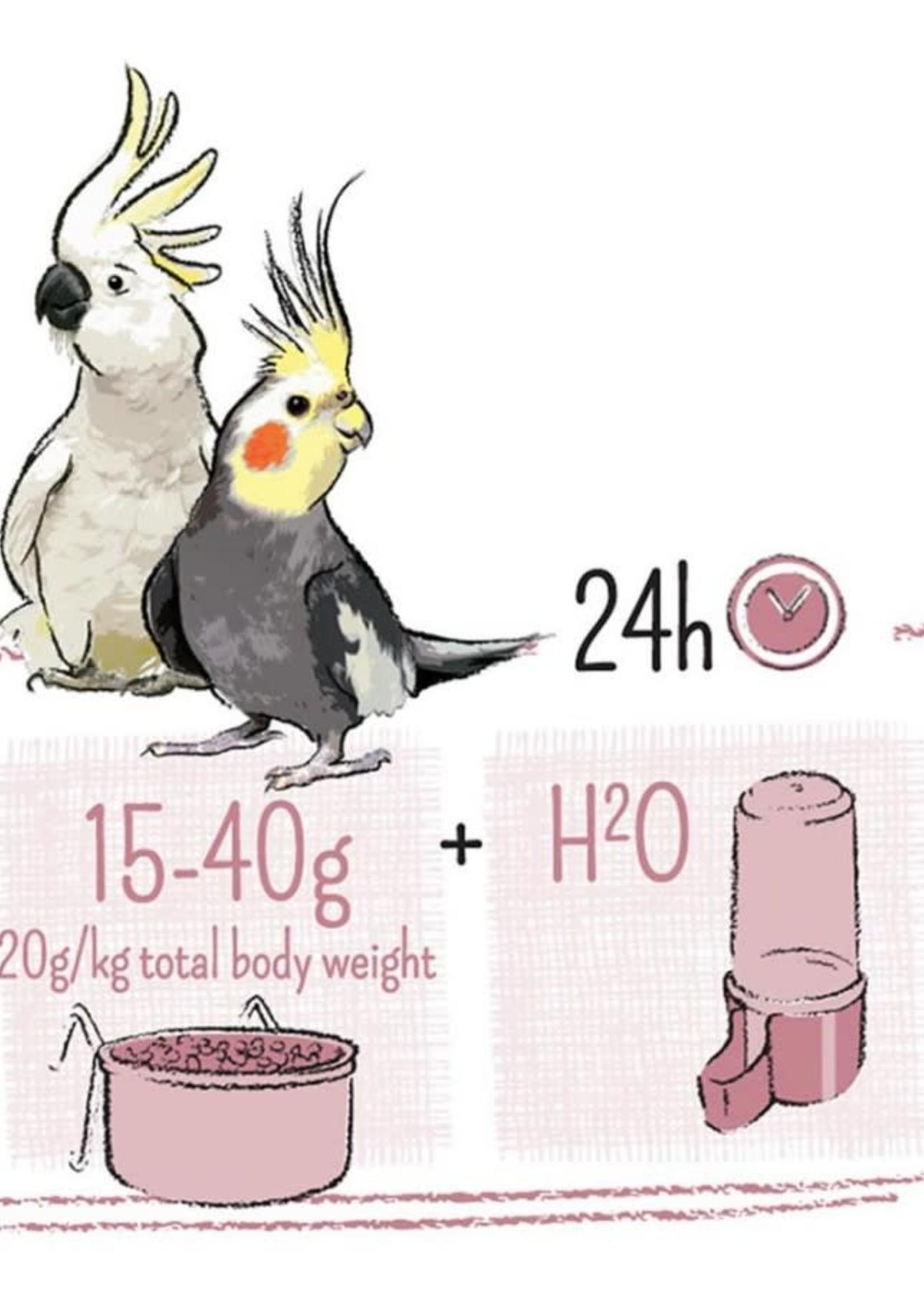 PUUR Large Parakeet & Cockatoo Food 2kg