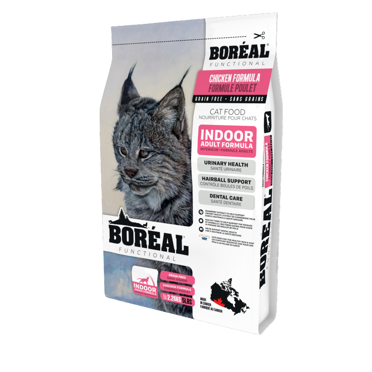 Functional Cat Food-Indoor Chicken-5.44kg-1