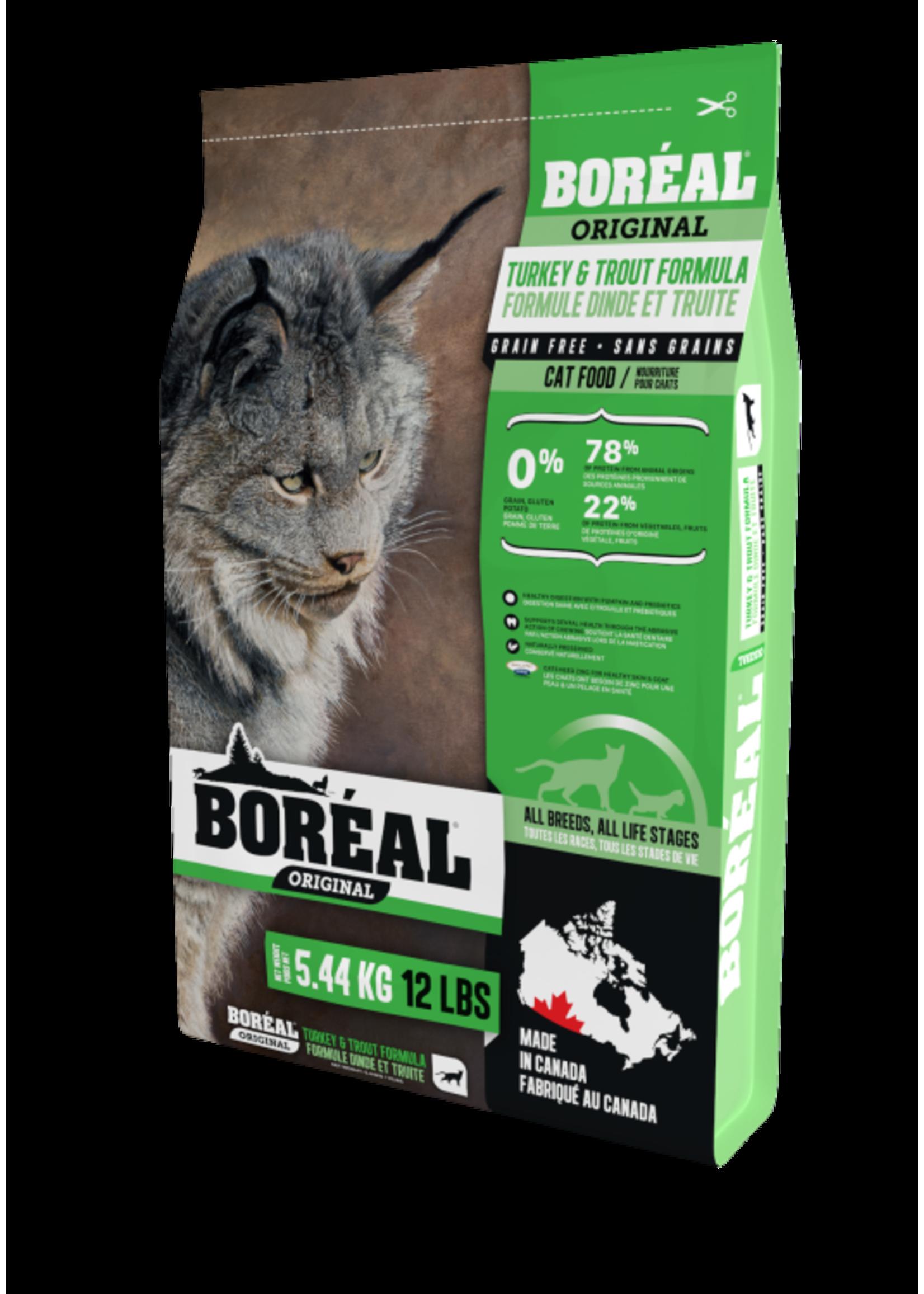 Boreal Original Cat Food Turkey & Trout 5.44kg