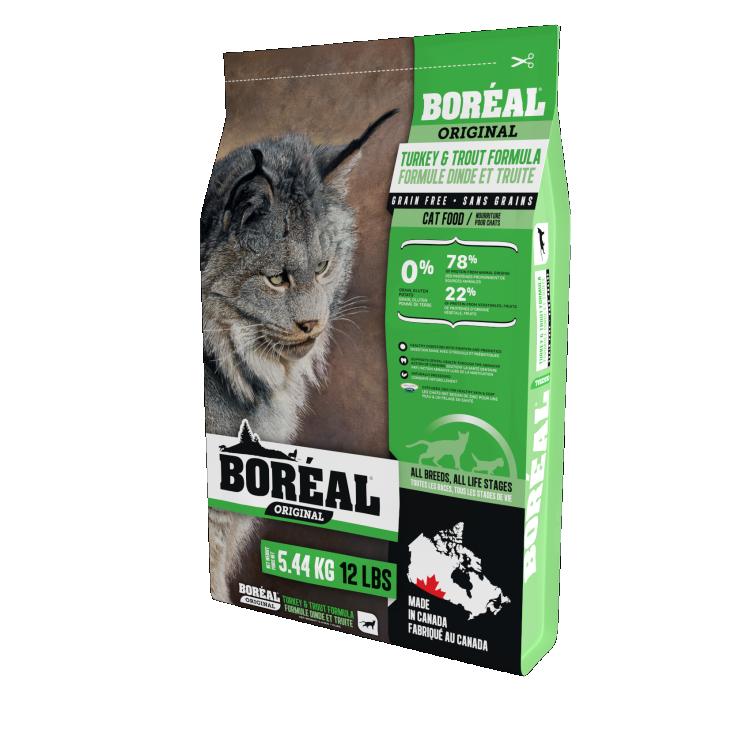 Original Cat Food Turkey & Trout 5.44kg-1