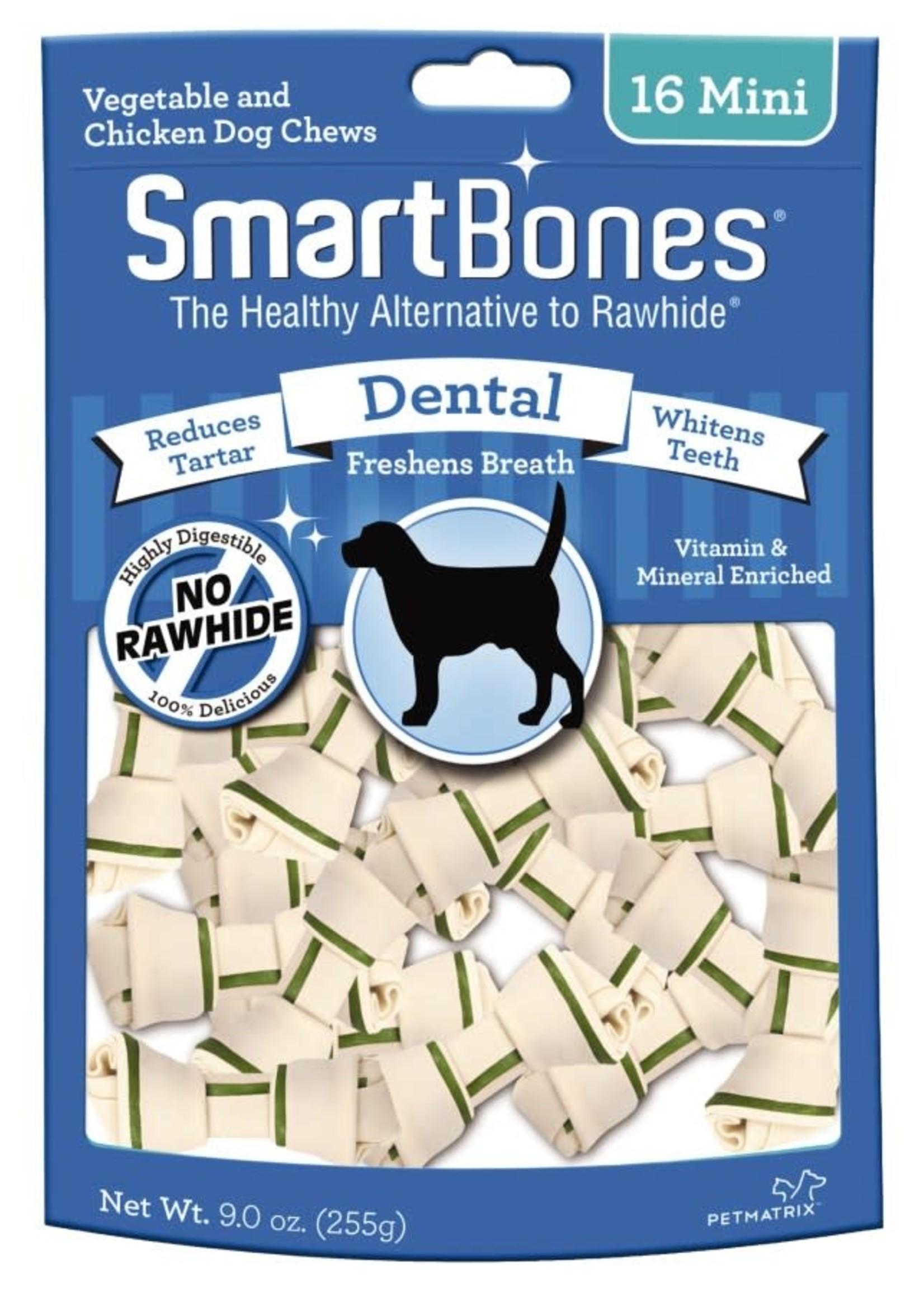 Smart Bones Dental Mini Chews 16PK