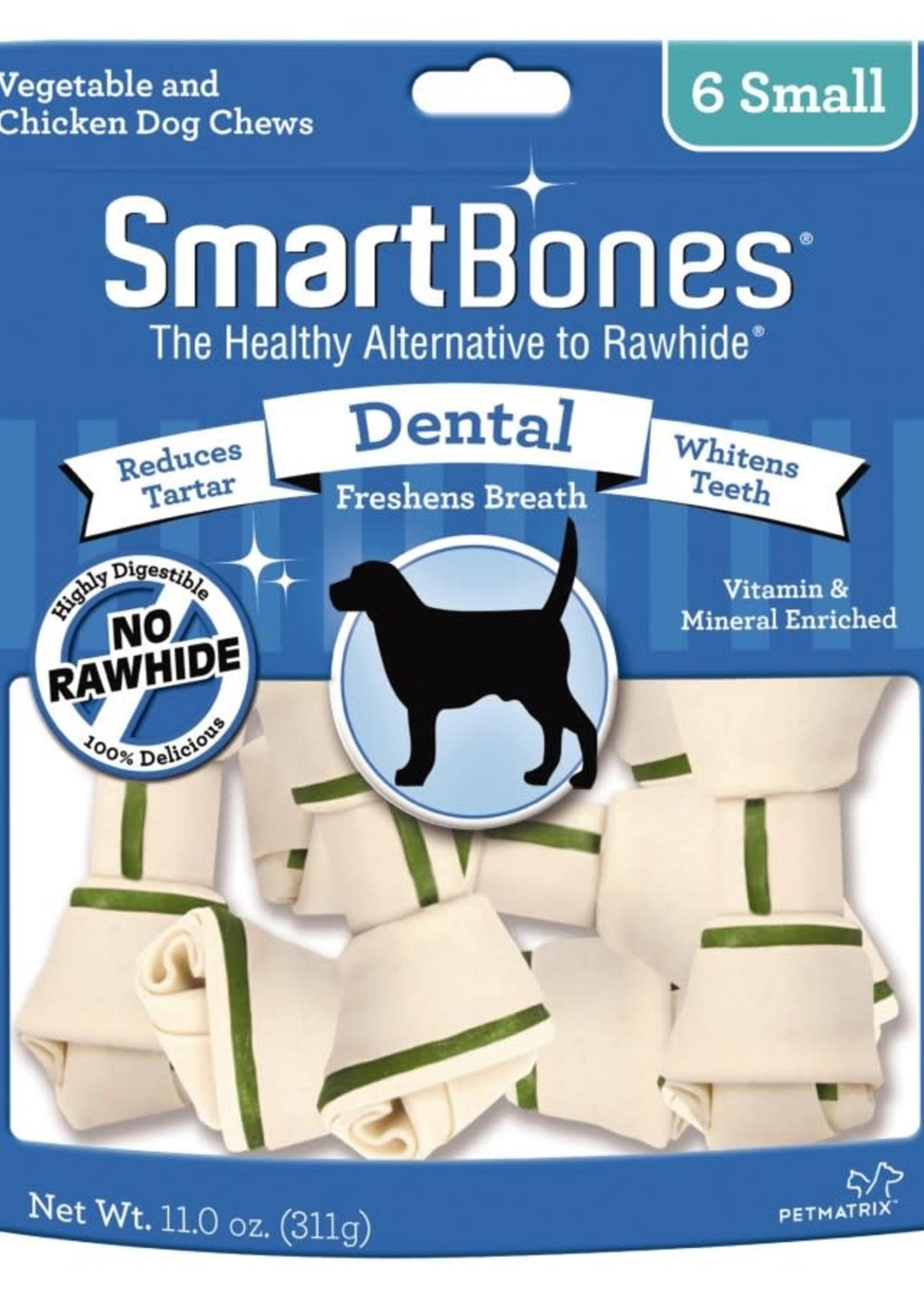 Smart Bones Dental Small Chews 6PK