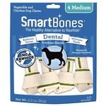 Smart Bones Dental Medium Chews 4PK
