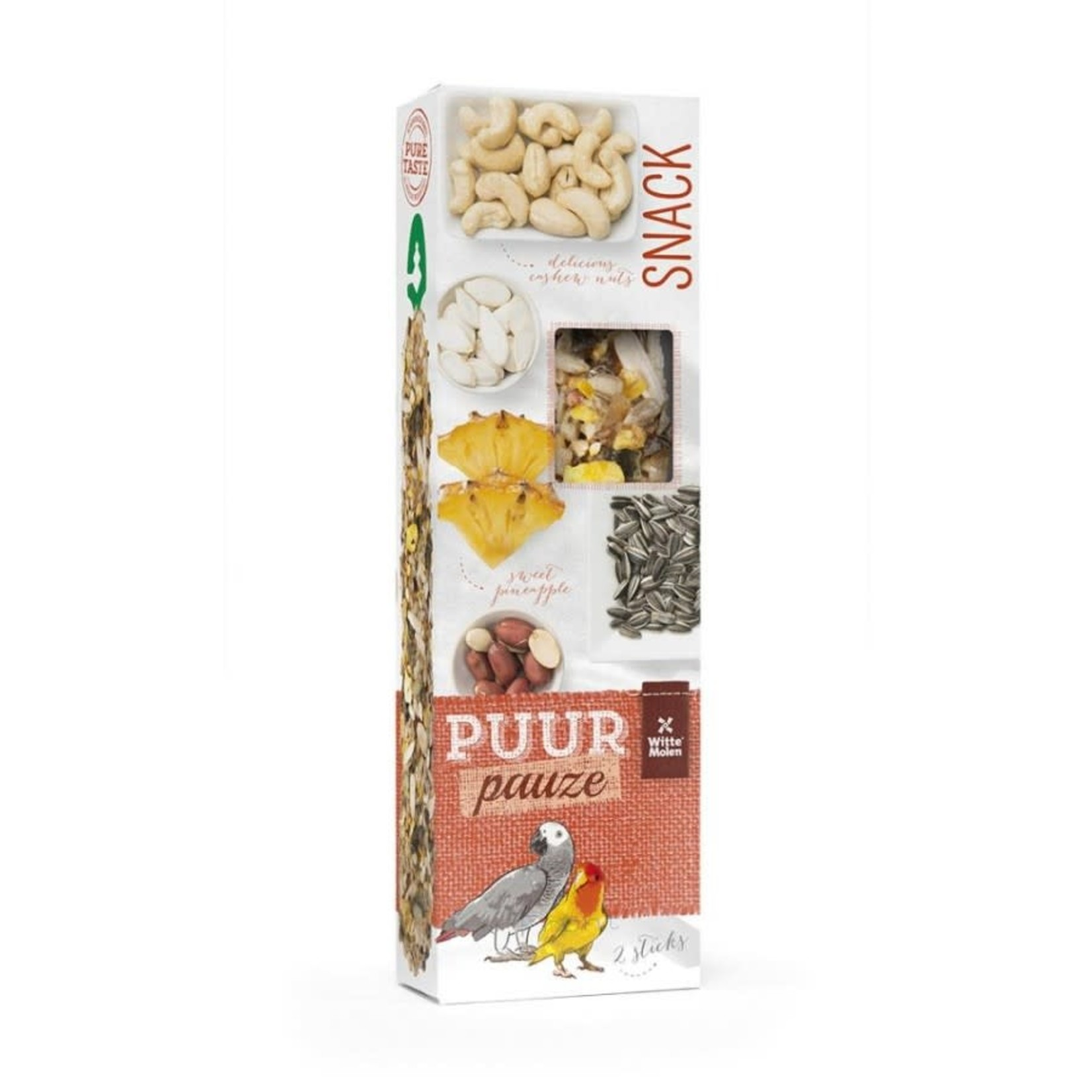 Witt Molen Parrot -Pineapple/Peanut Sticks