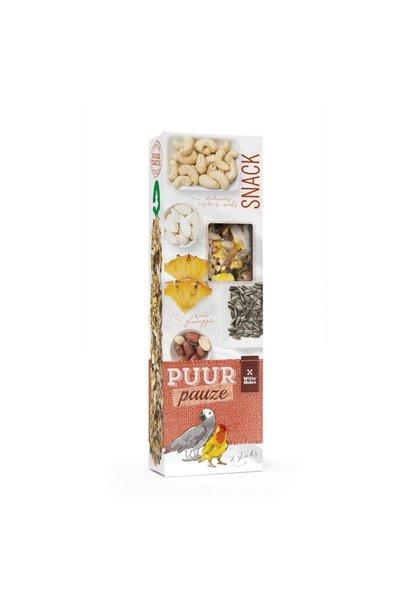 Parrot -Pineapple/Peanut Sticks