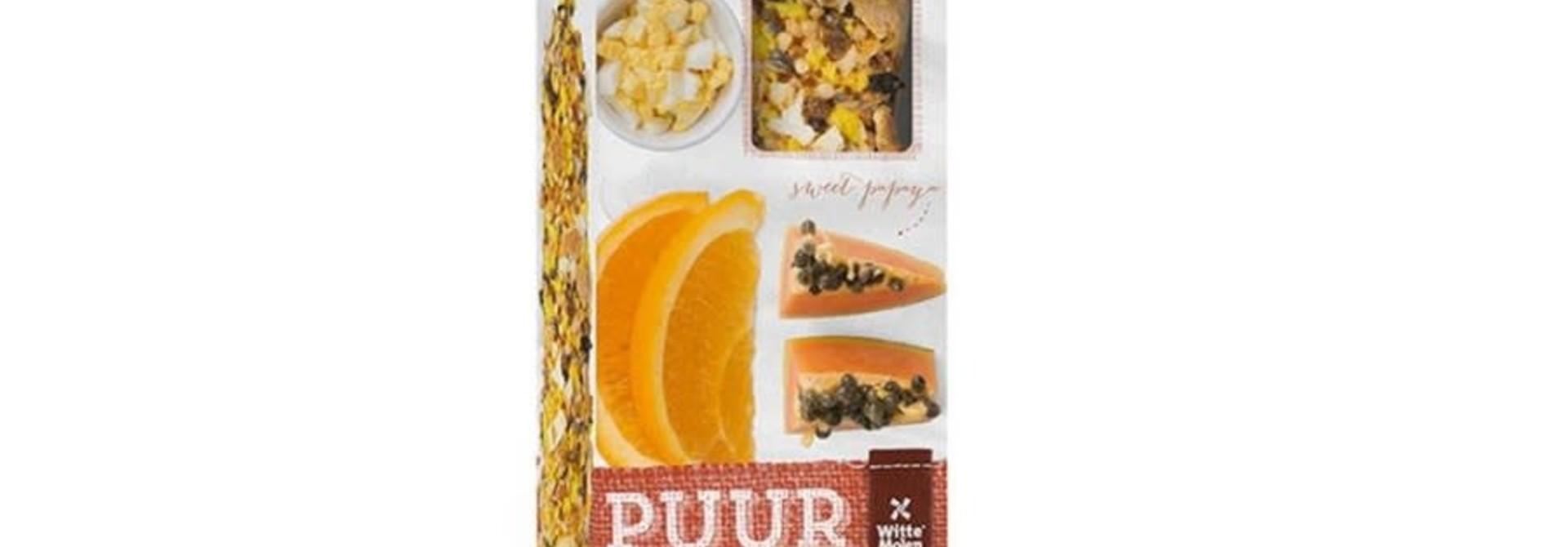 Budgie - Papaya/Orange Treat Sticks