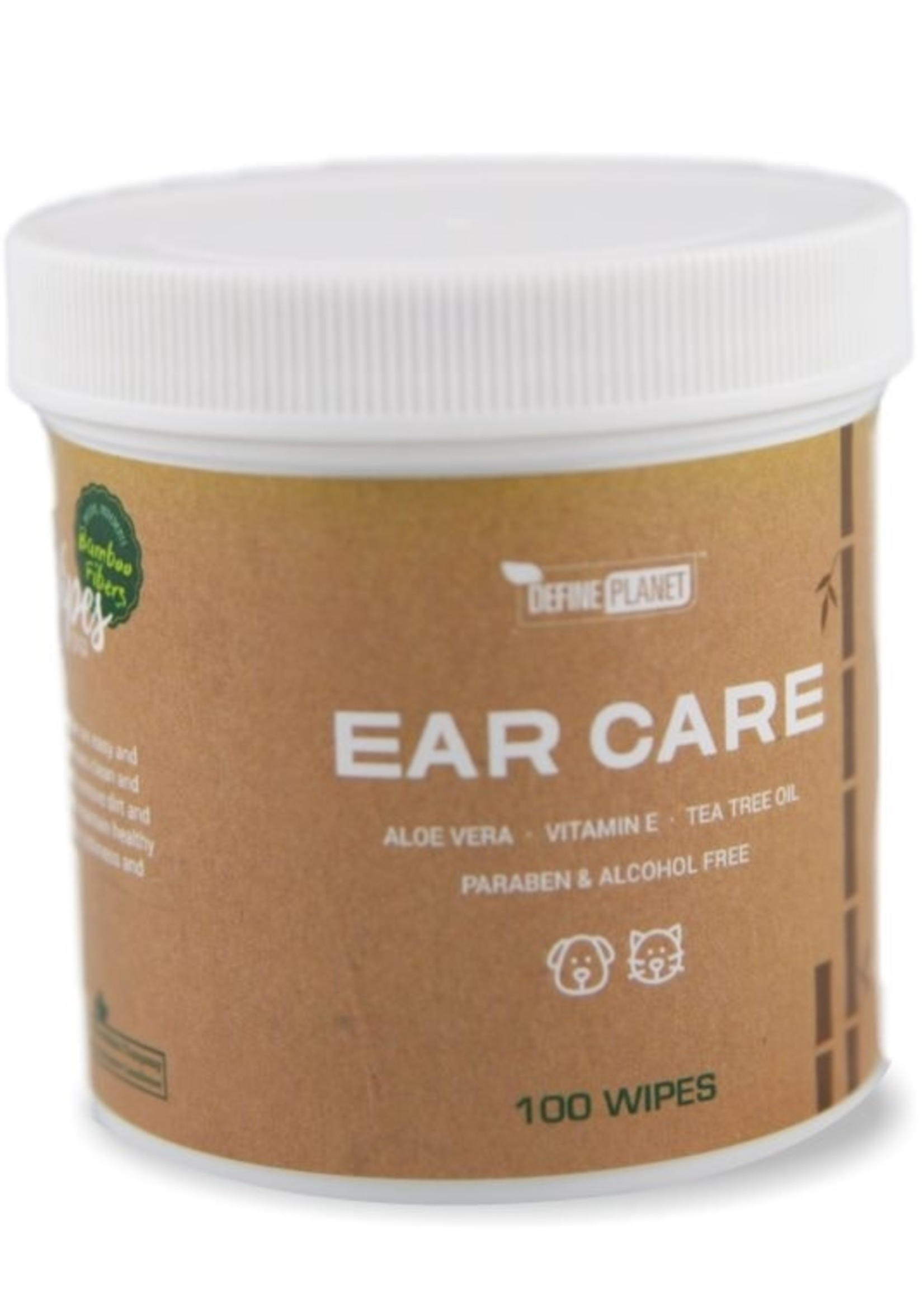 DefinePlanet BooWipes Ear Care Wipes 100ct