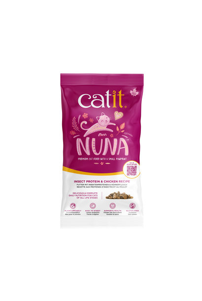 Nuna Cat Food - Insect & Chicken - Sample 150g