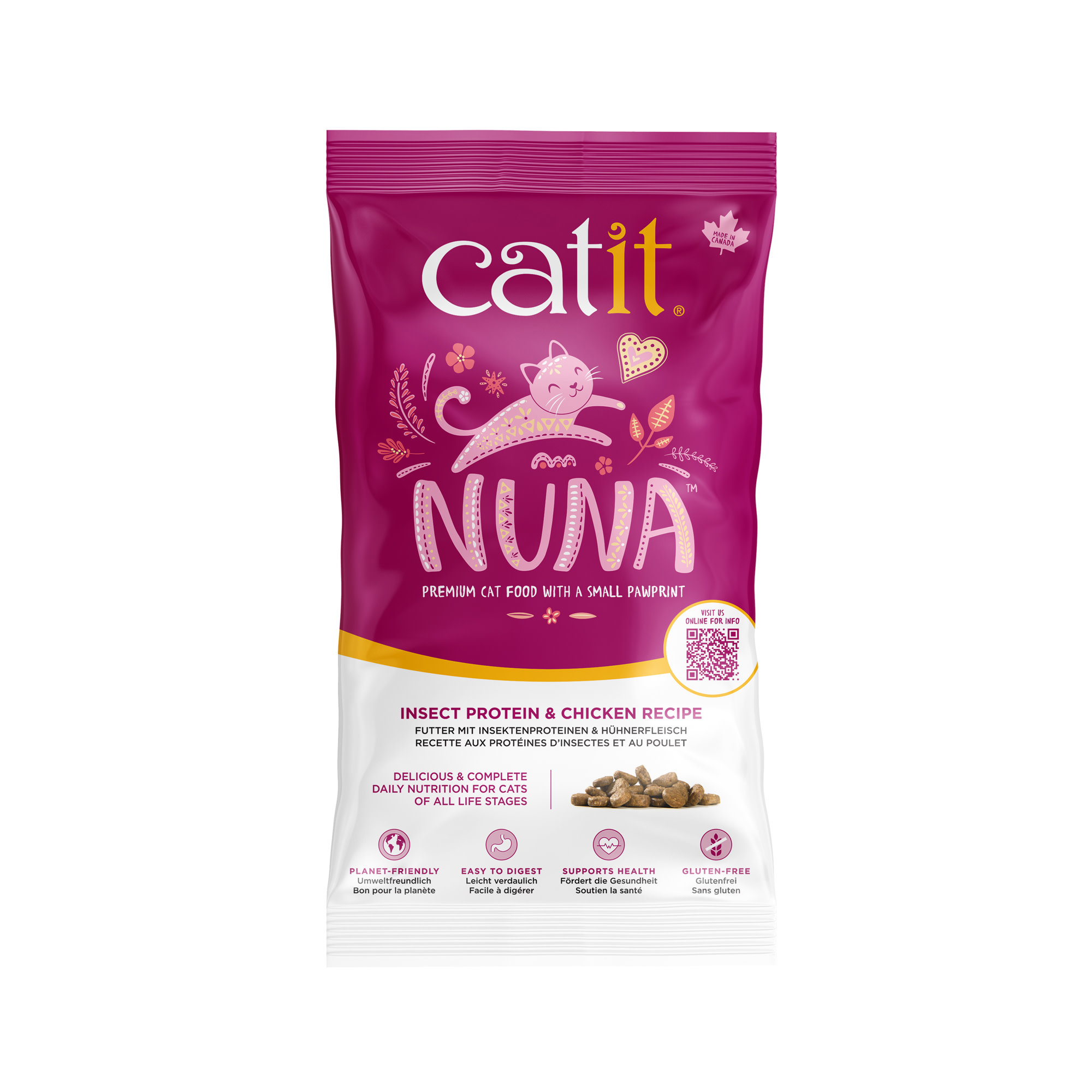 Nuna Cat Food - Insect & Chicken - Sample 150g-1