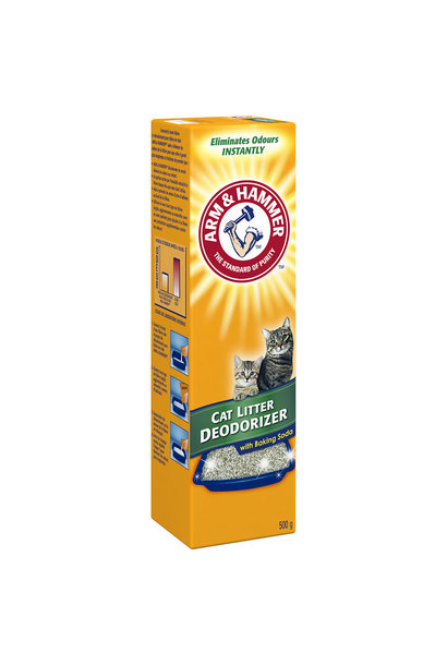 A&H Cat Litter Deodorizer 12/500GM