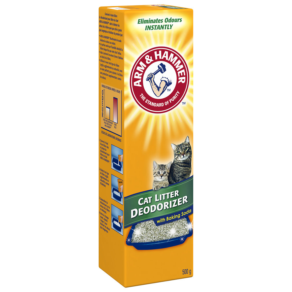 A&H Cat Litter Deodorizer 12/500GM-1
