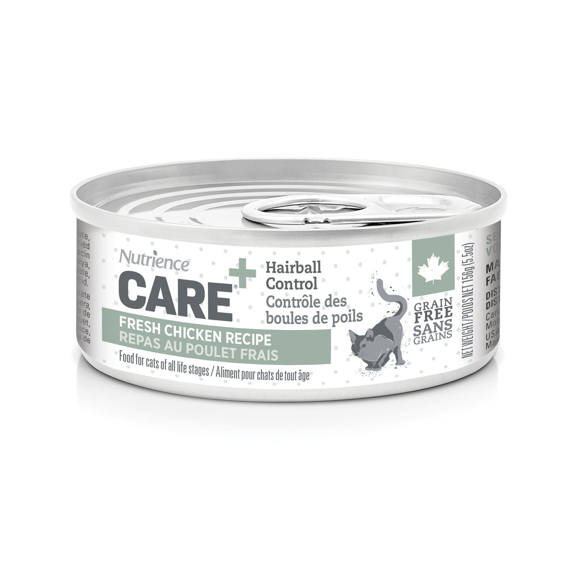 Care - Hairball Control- Cat Food 156g-1