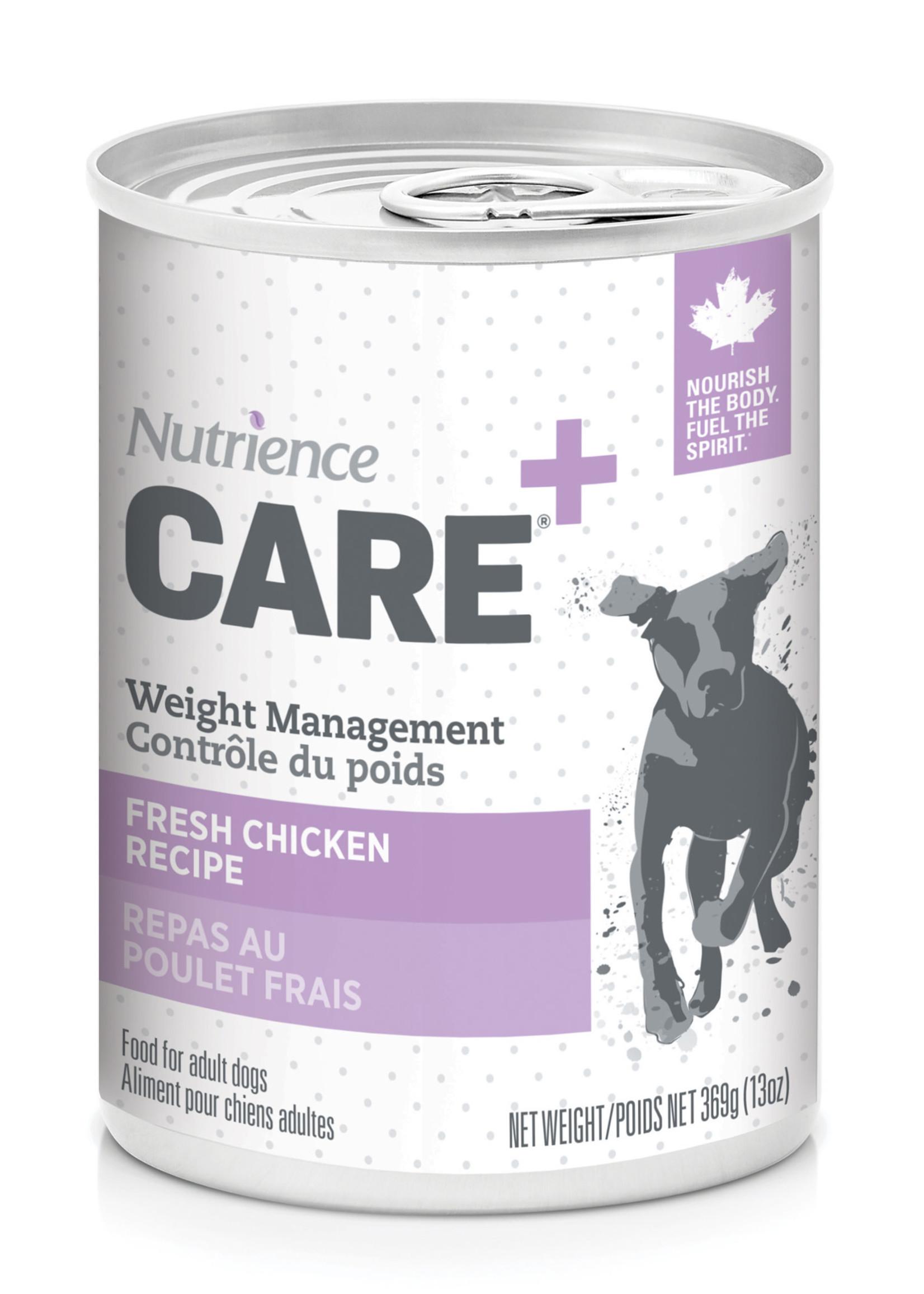 Nutrience Care Dog Weight Management - Chicken - 369g
