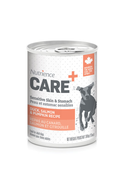 Care Dog Sensitive Skin, & Stomach - Duck, Salmon - 369g