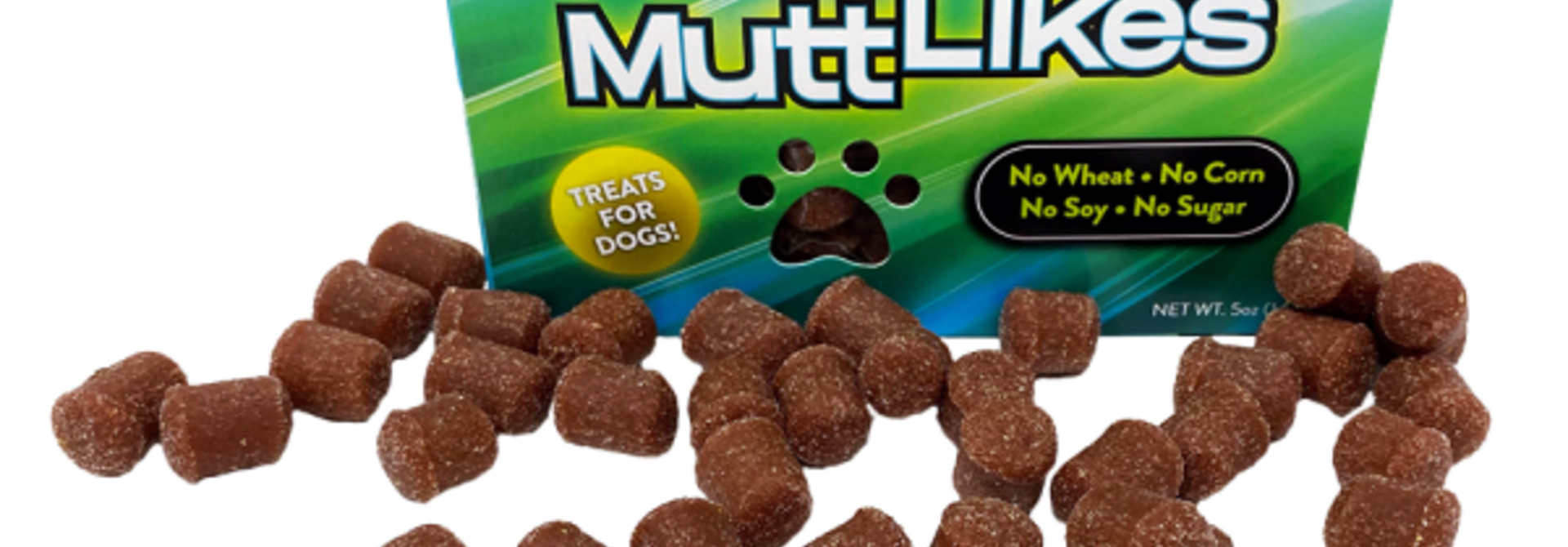 Mutt Likes Treats Strawberry Flavour 5oz