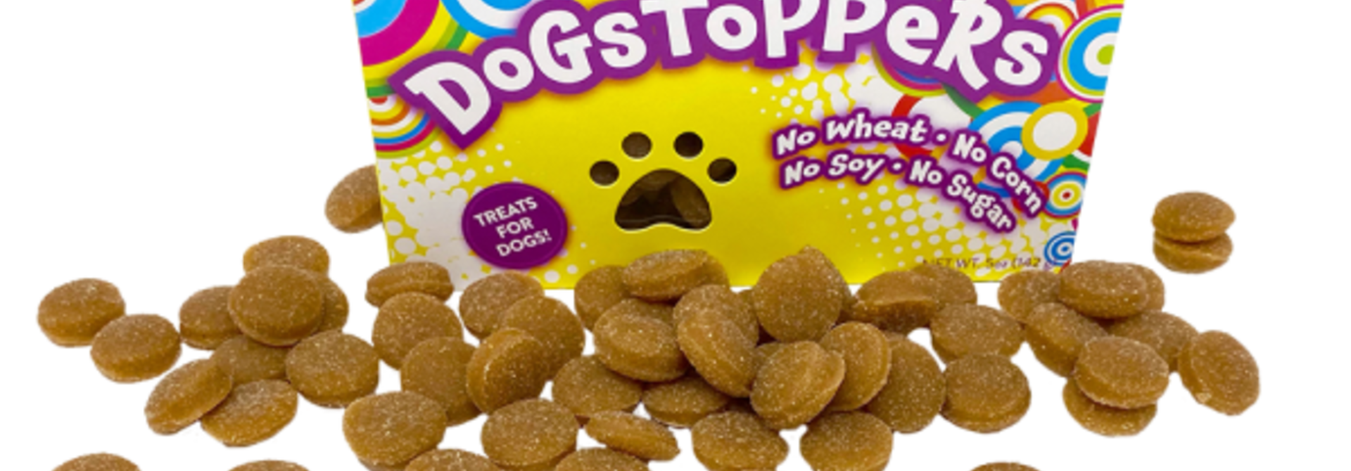 Dogstoppers Treats Cheese Flavour 5oz