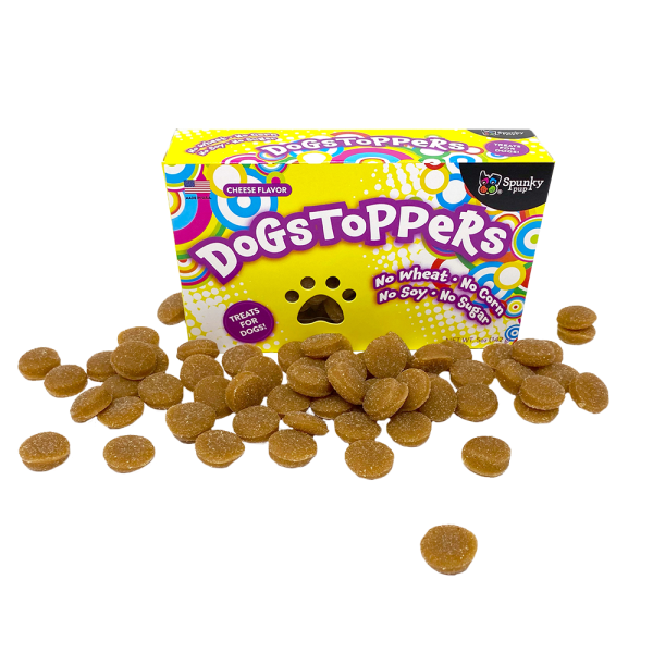 Dogstoppers Treats Cheese Flavour 5oz-1