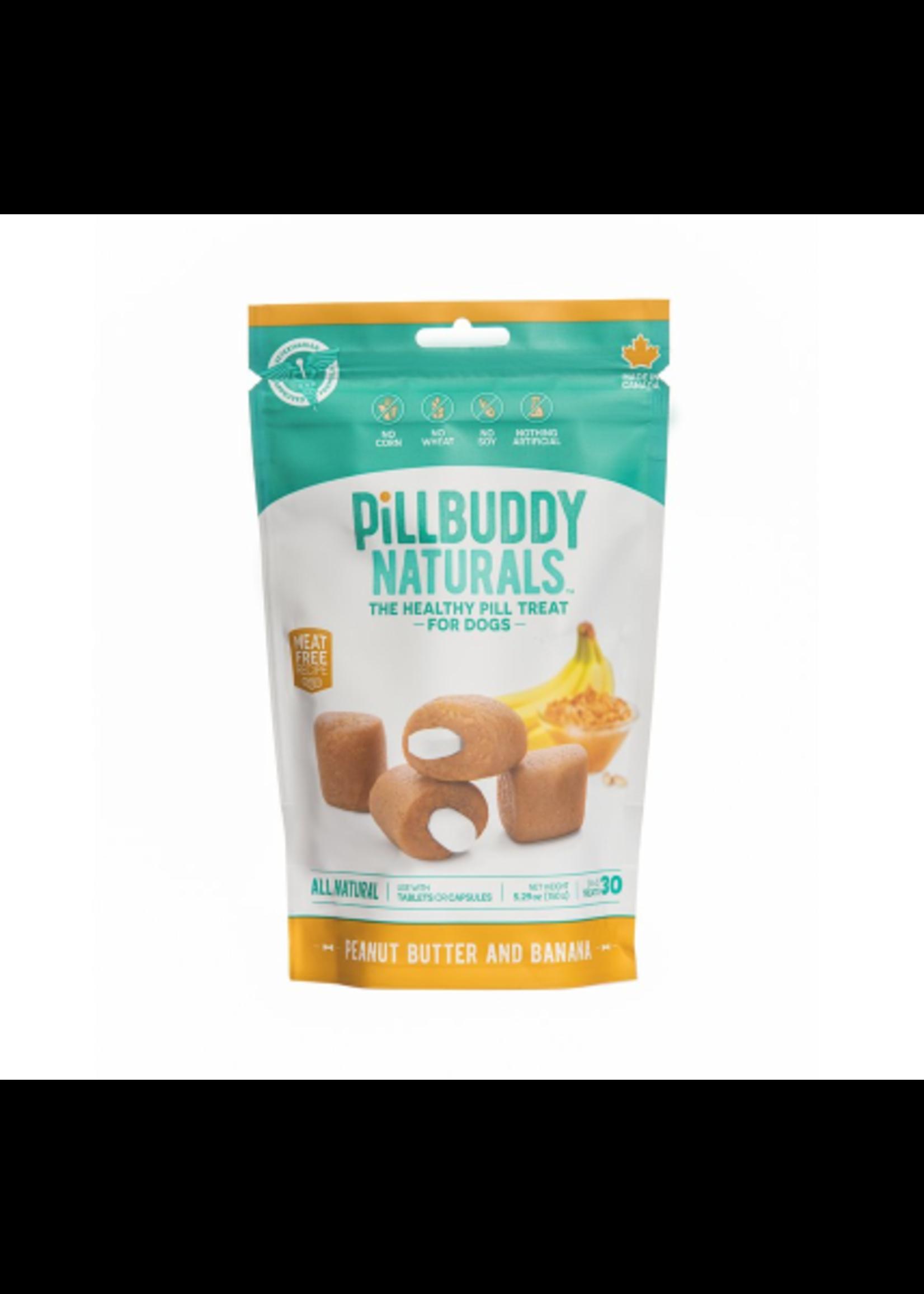 Pill Buddy Naturals Peanut Butter and Banana 150g 30ct