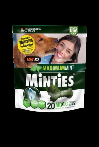 Maximum Mint Dental Bones MD/LG 16oz 20ct