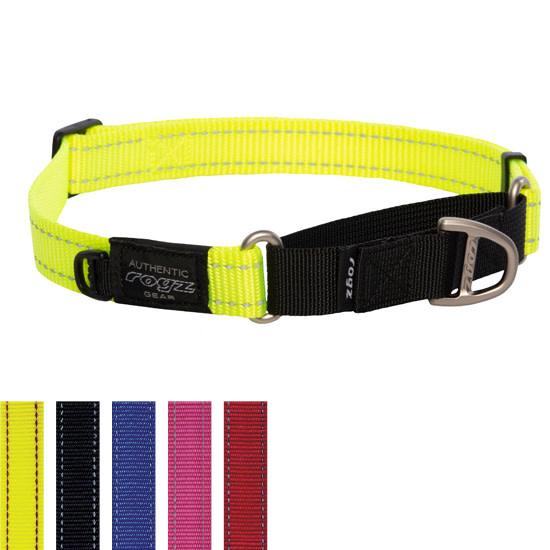 Control Collar Web Large Yellow-1