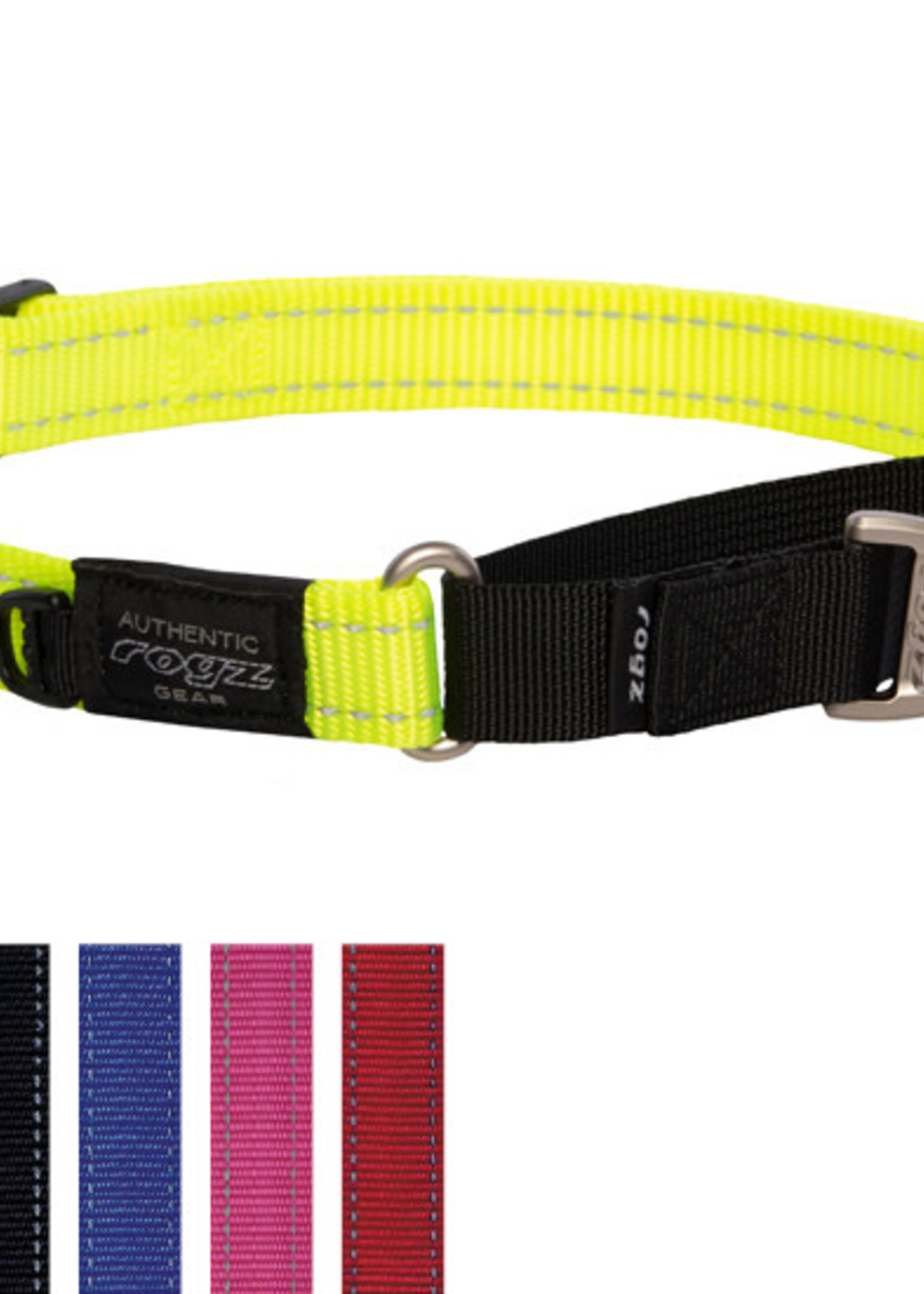 ROGZ Control Collar Web Large Black
