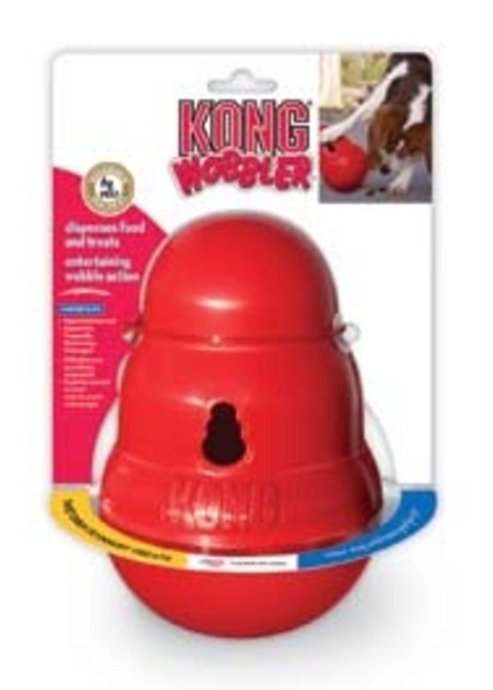 Kong Wobbler Treat Dispenser- Large