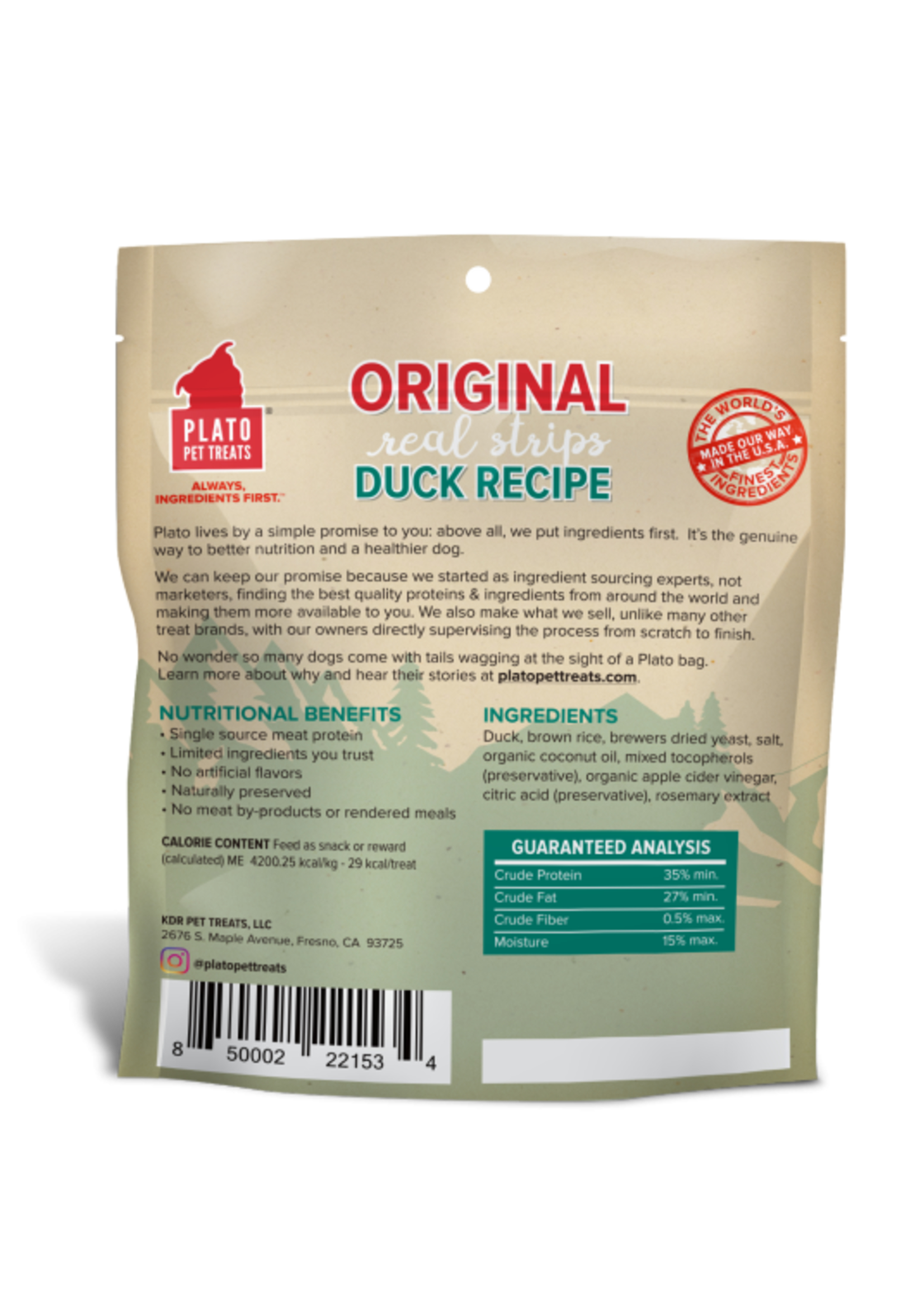 Real Strips - Duck 85gm