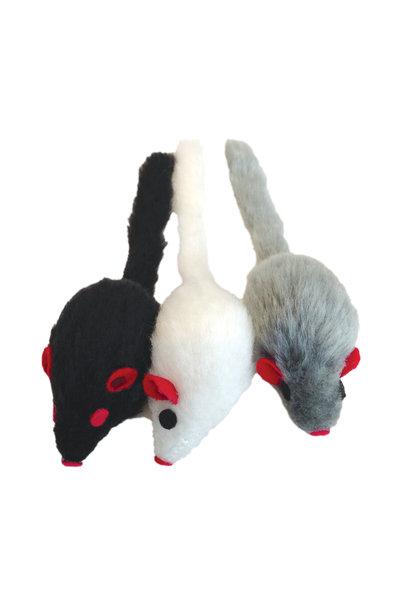 CL Furry Frolics, Catnip Furry Mice 3pck
