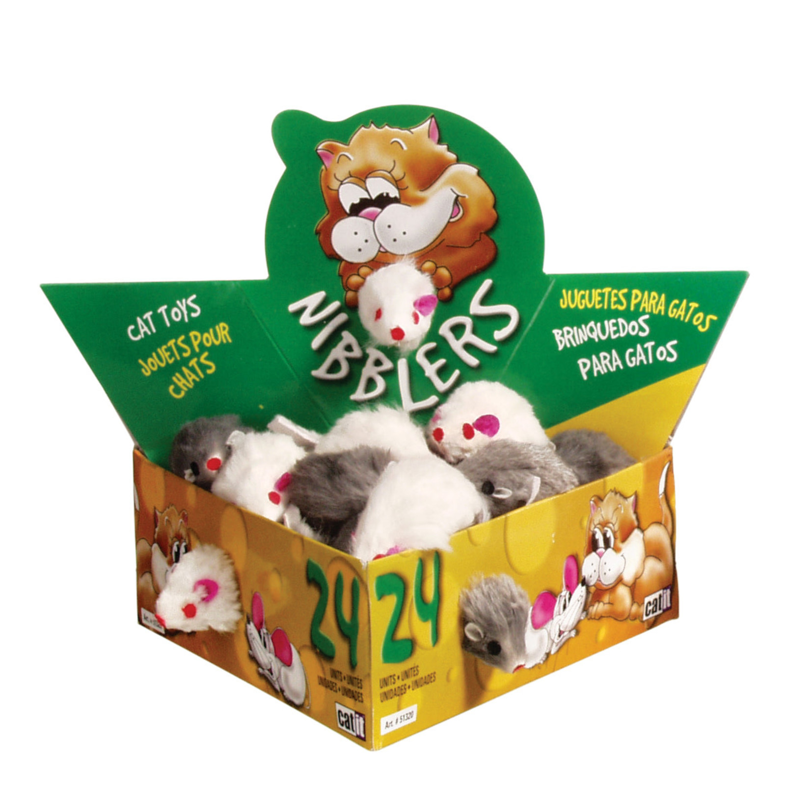 Catit Deluxe Fur Mouse, Small