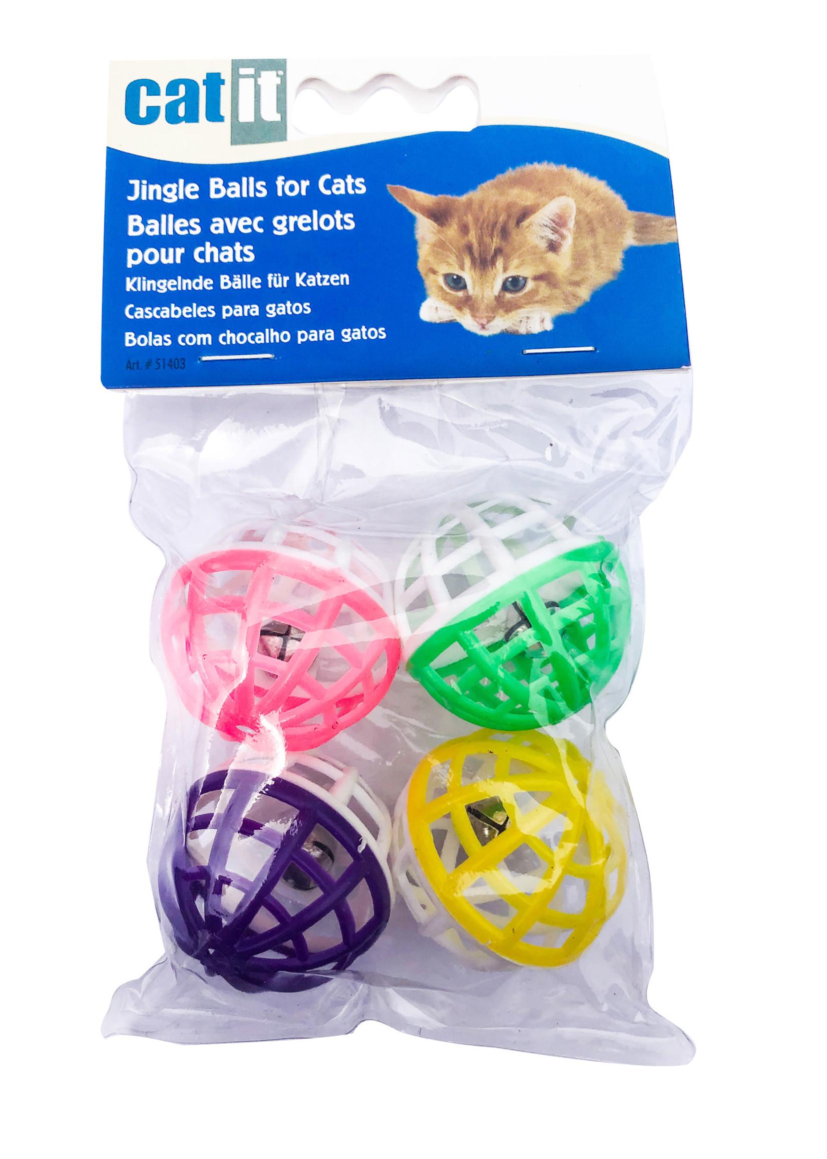 Catit Jingle Balls, 4 pcs