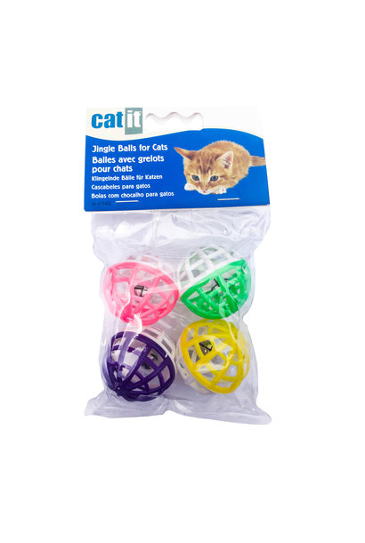 Catit Jingle Balls, 4 pcs