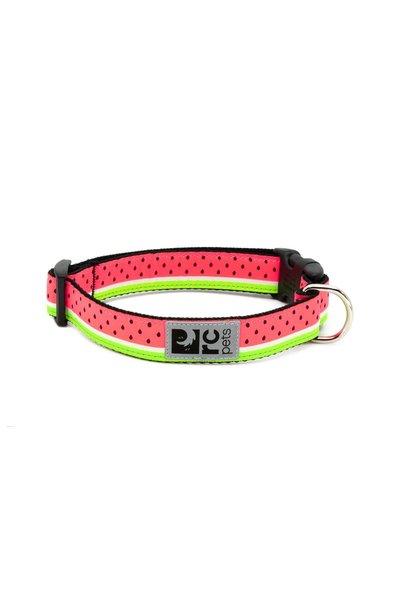 Clip Collar XS 5/8 Watermelon