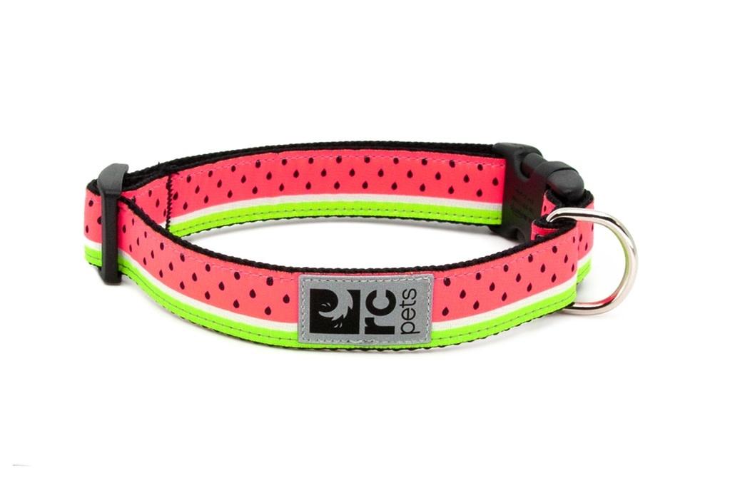 Clip Collar XS 5/8 Watermelon-1