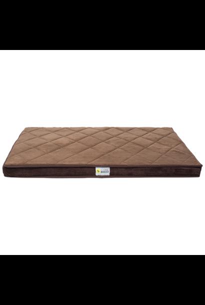 Diamond Bed Brown Large 28x46