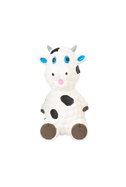 "Mini Latex Squeaker -Sheep 3.5"" White"