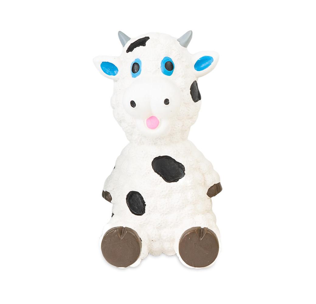 "Mini Latex Squeaker -Sheep 3.5"" White-1"