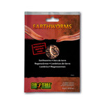 EX Reptile Food, Earthworms ,15g