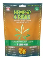 Hemp 4 Paws Hemp infused Treats - Pumpkin-250gm