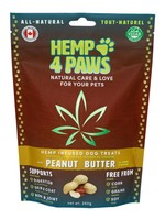 Hemp 4 Paws Hemp infused Treats - Peanut Butter - 250gm