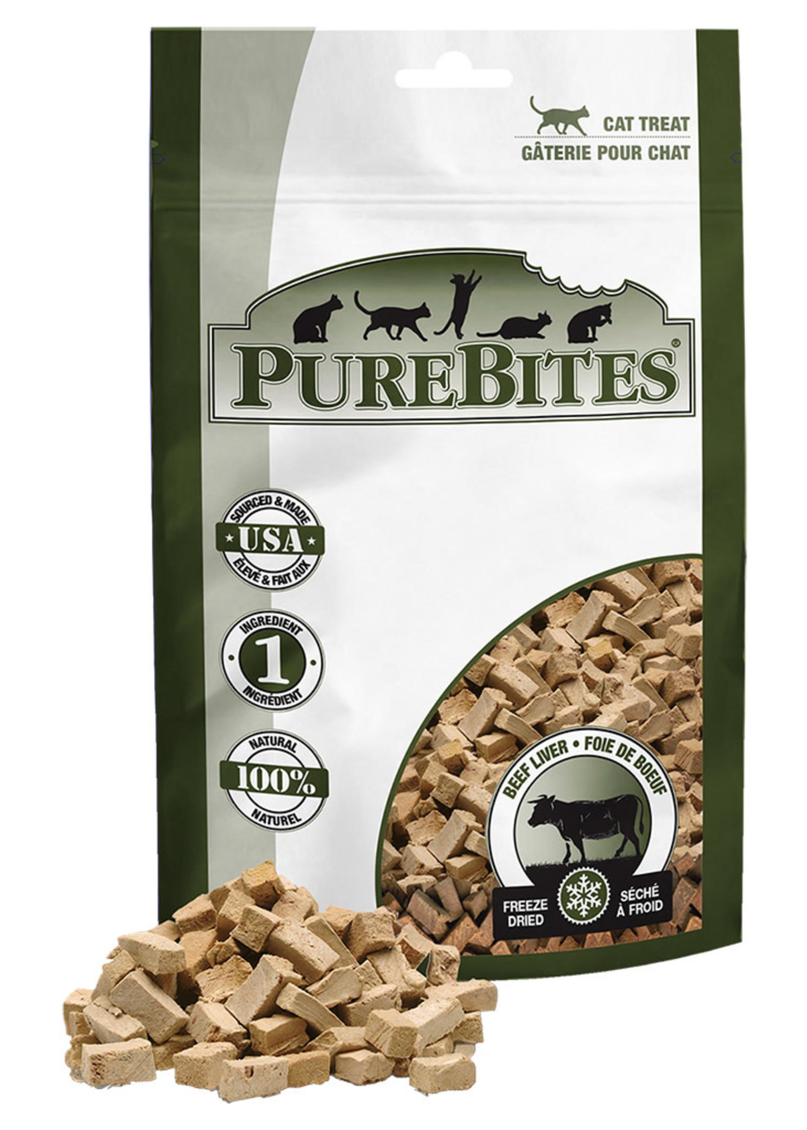 PUREBITES Beef Liver Cat Treat - 24GM