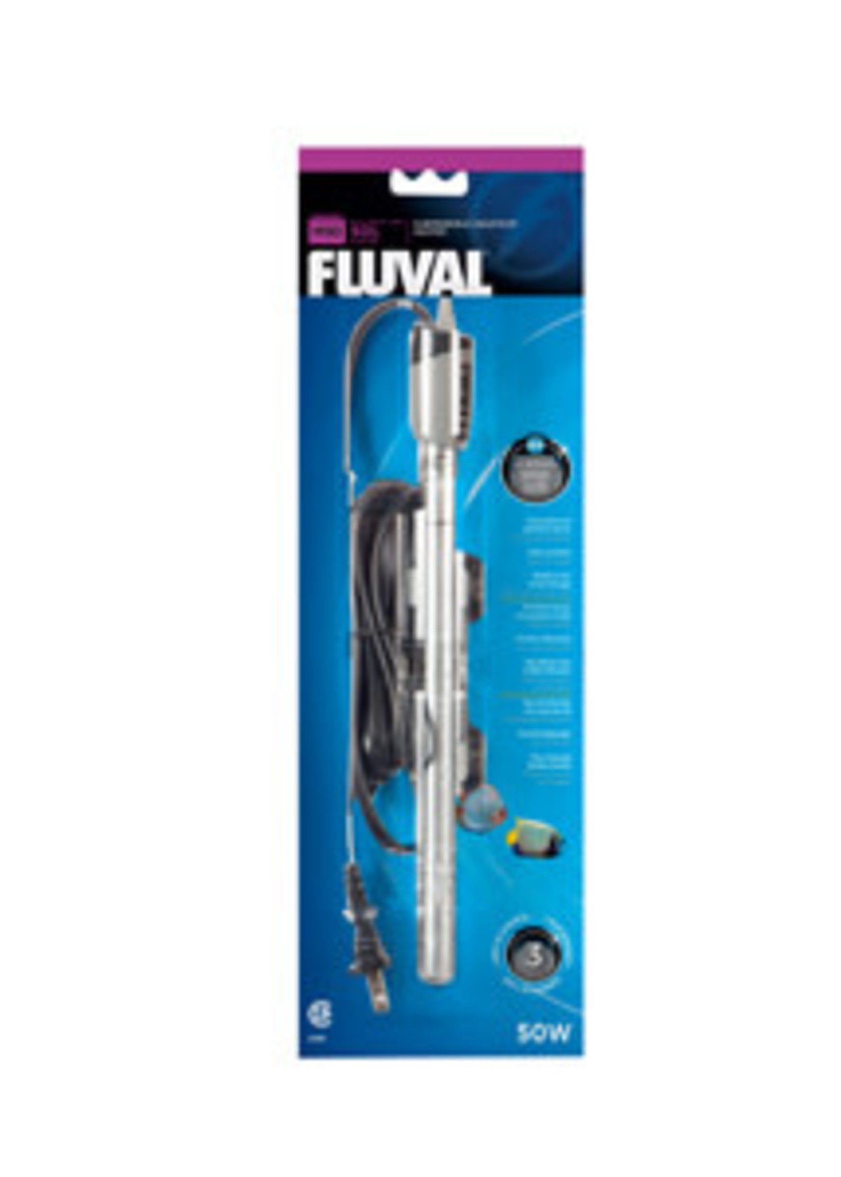 Fluval M50 Aquarium Heater, 50Watt-V