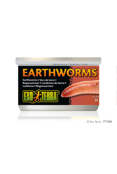 ET Earthworm Canned Food, 34g