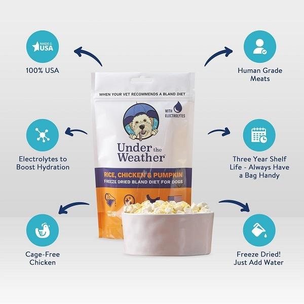 Bland Diets Chicken & Rice/Pumpkin w/Electrolytes - 6oz-2