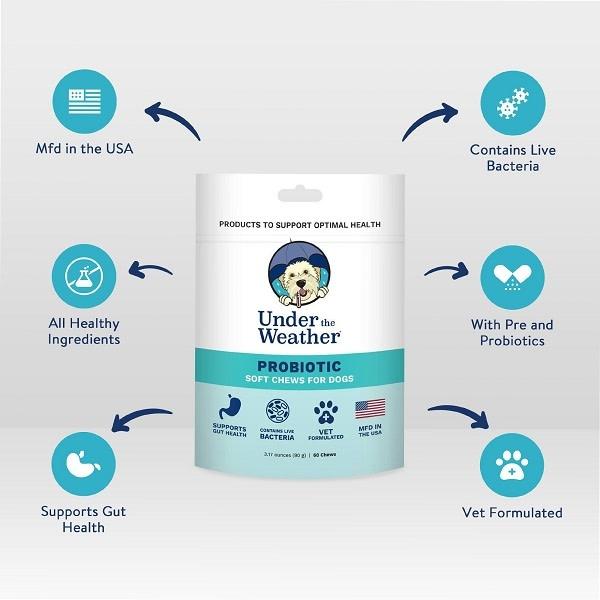 Probiotic Dog Supplement 90g-1